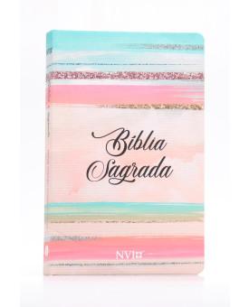 Bíblia Sagrada   NVI   Letra Normal   Soft Touch   Colorida
