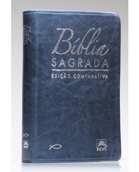 Bíblia Sagrada | NVI | Letra Extragigante | Luxo | Azul