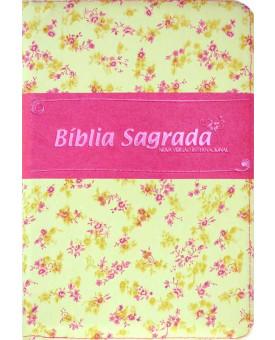Bíblia Sagrada NVI | Letra Gigante | Floral