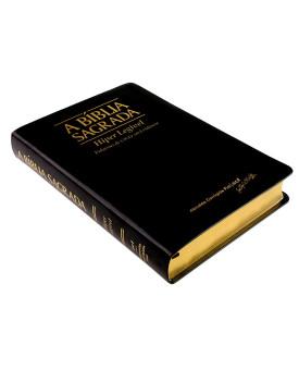 A Bíblia Sagrada | ACF | Hiper Legível | Palavras de Cristo em Evidência | Luxo | Preta