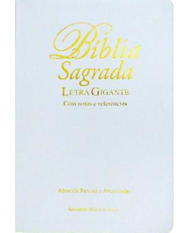Bíblia Sagrada | Letra Gigante | Branca | RA