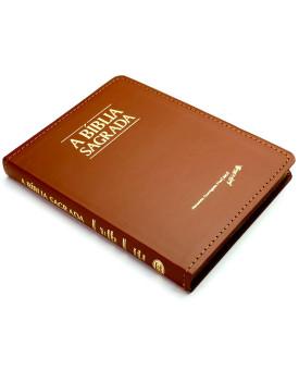 Bíblia Sagrada | ACF | Letra Grande | índice | Fina | Luxo | Marrom
