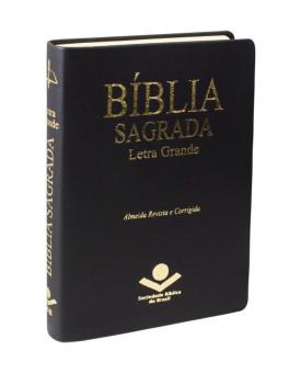 Bíblia Sagrada | RC | Letra Grande | Capa Sintética | Preta | Índice