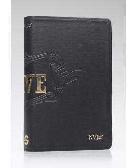 Bíblia de Estudo Live | NVI | Letra Normal | Capa Luxo | Preta