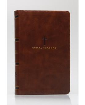 Bíblia Sagrada  | ACF | Letra Grande | Leitura Perfeita | Capa PU | Marrom