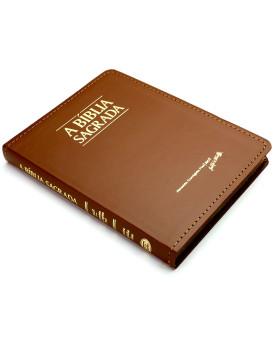 Bíblia Sagrada | ACF | Letra Média | Luxo | Marrom