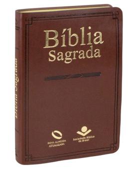 Bíblia Sagrada | NAA | Missionária | Sintética | Marrom