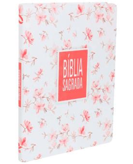 Bíblia Sagrada | NAA | Letra Grande | Sintético | Flor