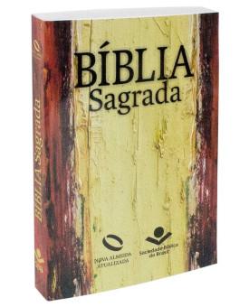 Bíblia Sagrada | NAA | Evangelismo | Marrom | Brochura