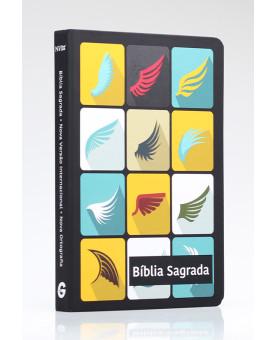 Bíblia Sagrada | NVI | Letra Normal | Semi-Luxo | Alado