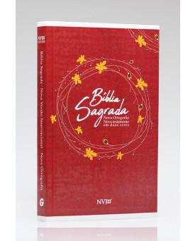 Bíblia Sagrada | NVI | Letra Normal | Brochura | Vermelha