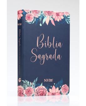 Bíblia Sagrada | NVI | Letra Normal | Semi-Luxo | Rosas