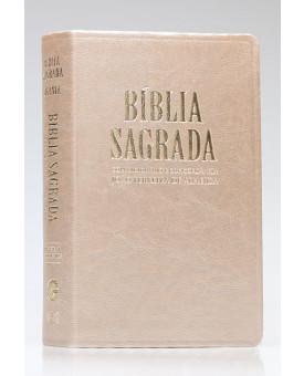 Bíblia Sagrada | RC | Letra Gigante | Luxo | Marfim Perolado | Índice