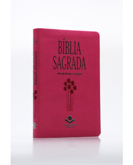 Bíblia Sagrada | RC | Letra Normal | Capa Sintética | Pink
