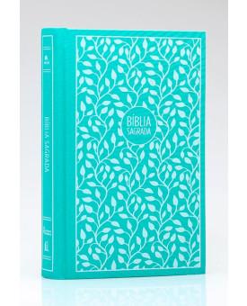 Bíblia Sagrada | NVI | Leitura Perfeita | Letra Grande | Tecido | Verde