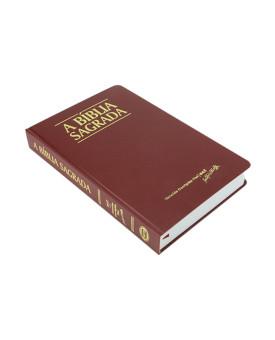 Bíblia Sagrada   ACF   Letra Grande   Semi - Luxo   Vinho