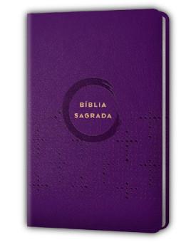 Bíblia Sagrada | NVI | Capa PU | Violeta