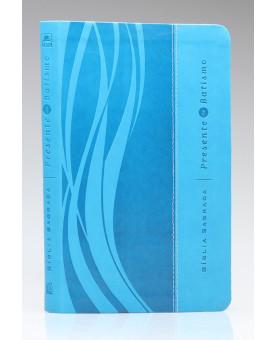 Bíblia Sagrada | NVI | Letra Normal | Emborrachada | Azul