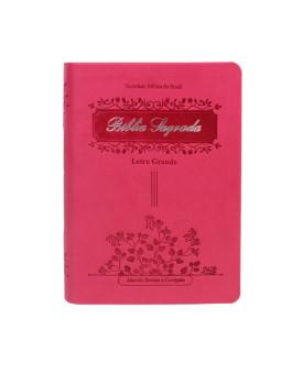 Bíblia Sagrada | RC | Letra Grande | Luxo | Pink | Índice