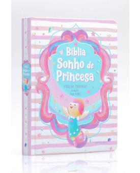 Bíblia Sonho de Princesa   Capa Dura   Ilustrada   Marilene Terrengui