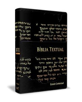 Bíblia de Estudo Textual | Letra Gigante | Luxo | Preta