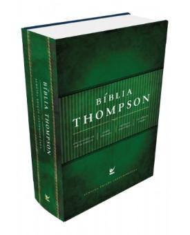 Bíblia de Estudo Thompson | Almeida Contemporânea | Capa Dura | Verde