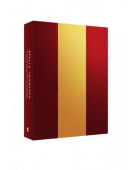 Bíblia de Estudo Thompson | Almeida Conteporânea | Luxo | Marrom/Bege
