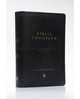 Bíblia Thompson | AEC | Letra Grande | Luxo | Preta | Índice
