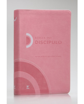 Bíblia do Discípulo | NVI | Letra Normal | Luxo | Rosa