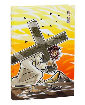 Bíblia Arte | NAA | Letra Média | Capa Dura | Sacrifício