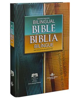 Bíblia Bilíngue | Português - Inglês | NTLH | Capa Dura