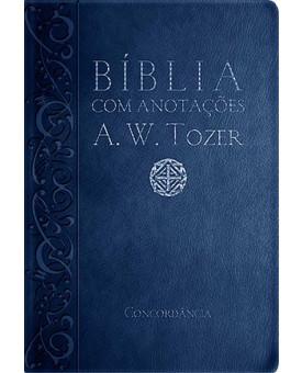 Bíblia com Anotações A. W. Tozer | Azul