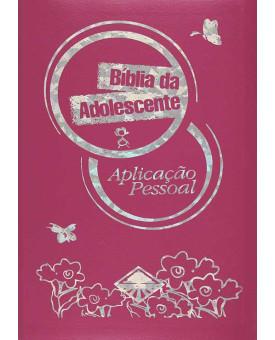 Bíblia da Adolescente Aplicação Pessoal | NTLH | Rosa