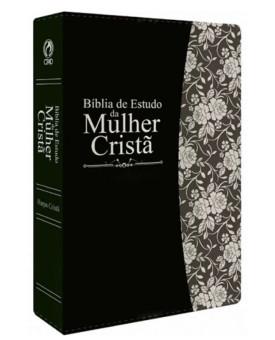 Bíblia de Estudo da Mulher Cristã | RC | Preta | Luxo