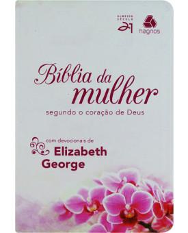 Bíblia Da Mulher | S21 | Luxo | Orquídeas