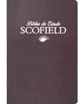 Bíblia de Estudo Scofield | Vinho