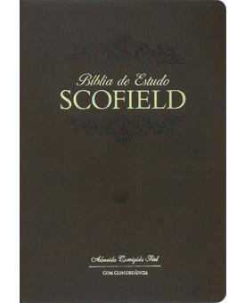 Bíblia de Estudo Scofield | ACF | Letra Normal | Luxo | Marrom