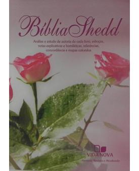 Bíblia de Estudo Shedd | RA | Letra Normal | Luxo | Feminina