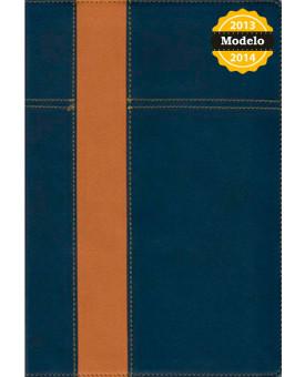 Bíblia de Estudo Thompson | Almeida Contemporânea | Luxo | Azul/Amarelo