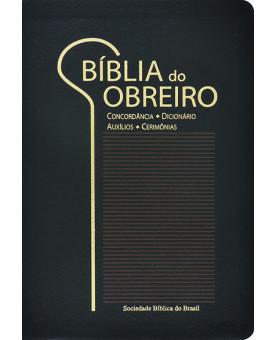 Bíblia do Obreiro | RA | Letra Grande | Luxo | Preta