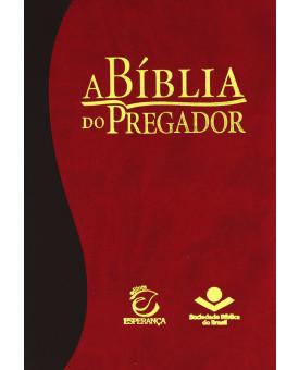 A Bíblia do Pregador | RC | Média | Marrom e Vermelho | Luxo