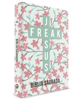 Bíblia Jesus Freak | NVI | Capa Dura | SemiLuxo | Ypê Rosa