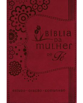 Bíblia | NVI | Mulher de Fé Sheila Walsh | Letra Normal | Couro Soft | Púrpura