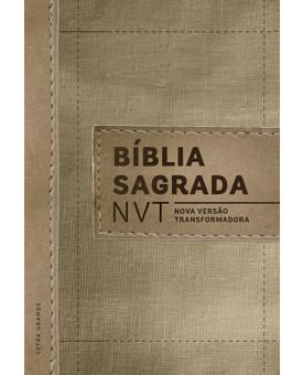 Bíblia Sagrada | NVT | Letra Grande | Capa Dura | Linho