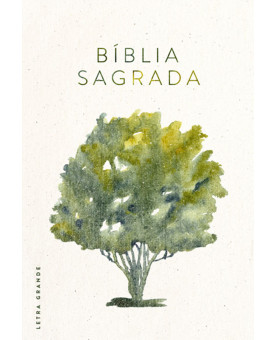 Bíblia NVT | Árvore Aquarela | Letra Grande | Capa Dura
