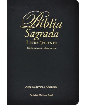 Bíblia Sagrada   RA   Letra Gigante   Média   Letra Gigante   Notas   Referências