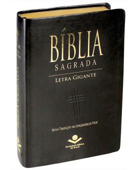 Bíblia Sagrada | Letra Gigante | NTLH | Luxo com índice | Preta