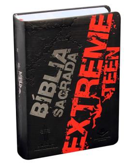 Bíblia Sagrada | Extreme Teen | NTLH | Flexível PU | Preta