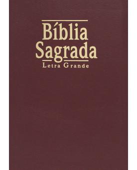 Bíblia NTLH | Letra Grande | Luxo | Vinho