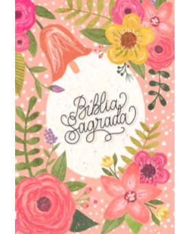 Bíblia Sagrada | NVI | Leitura Perfeita | Letra Normal | Capa Dura | Lettering | Floral